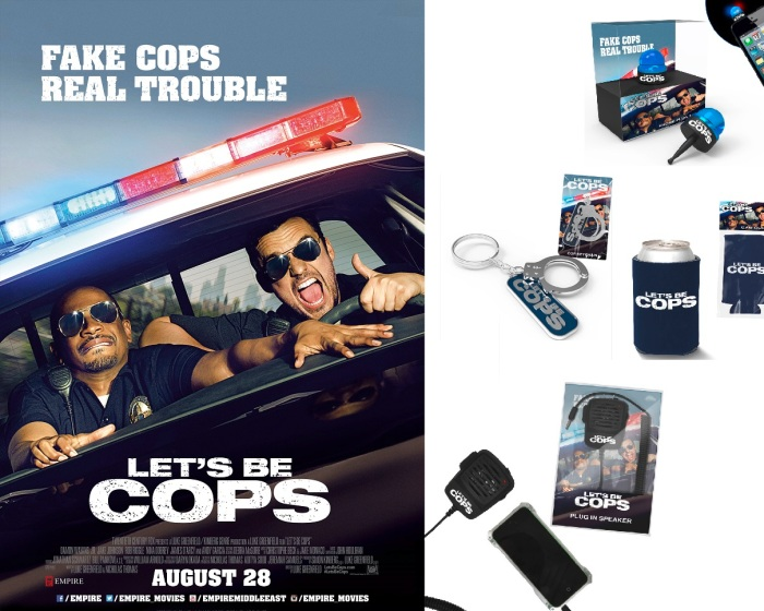 Lets Be Cops COmpetition