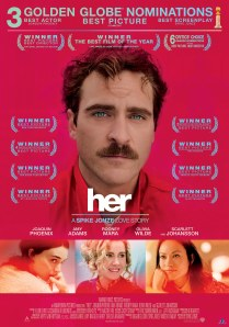 HER - Key Art Golden Globes