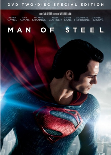 Man Of Steel DVD