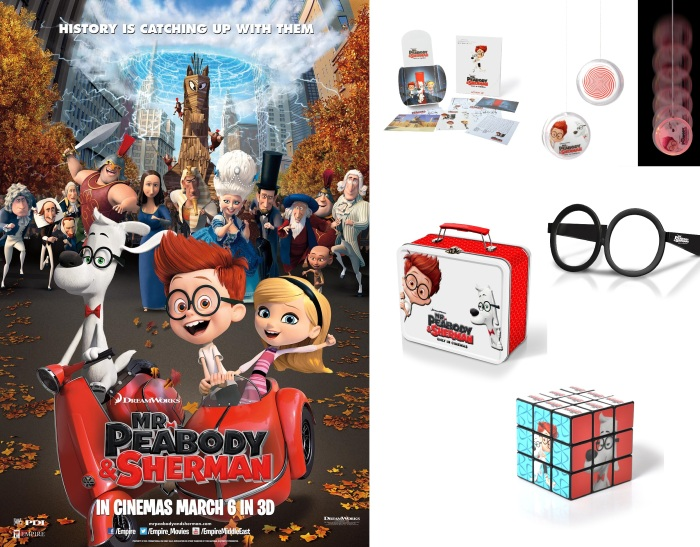 Mr Peabody & Sherman Competition
